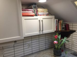 Kitchen cubby